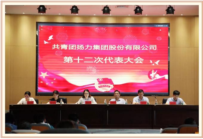 共青团扬力集团股份有限公司第十二次代表大会圆满召开!